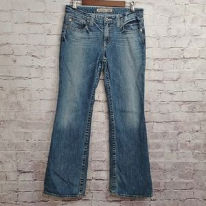 Big Star Maddie Mid Rise Boot Cut Jeans